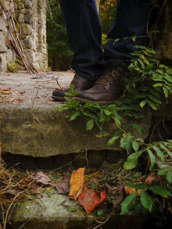 UGG Australia's waxed leather boot for men - the #Jarrett #UGG4Men #Fall
