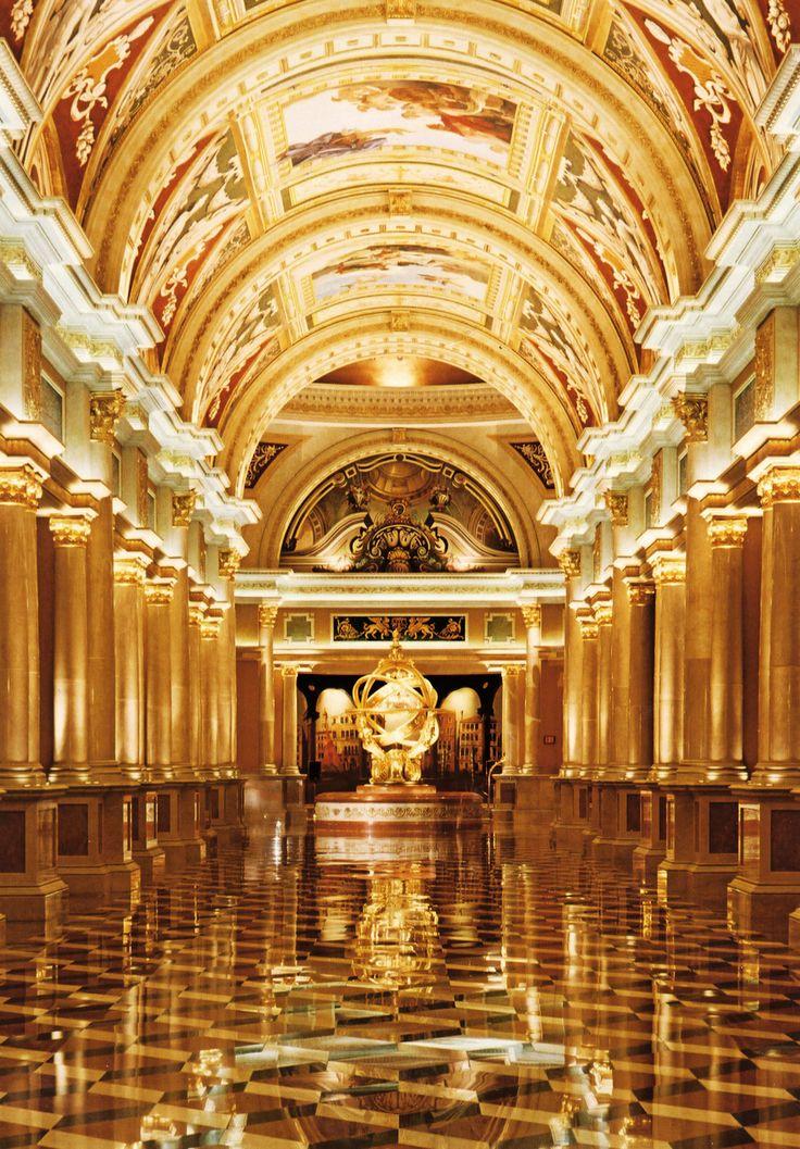 This hallway was fantastic! The Venetian - Las Vegas, Nevada