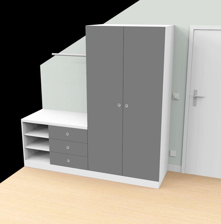 armoire/commode pour chambre d'enfant par ProjetC