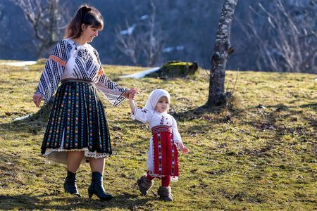Little Maria after the religious service Photo by Bogdan Comanescu -- National Geographic Your Shot