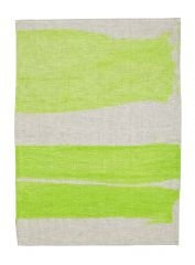 Hand Painted Green Tea Towel | bonnie and neil