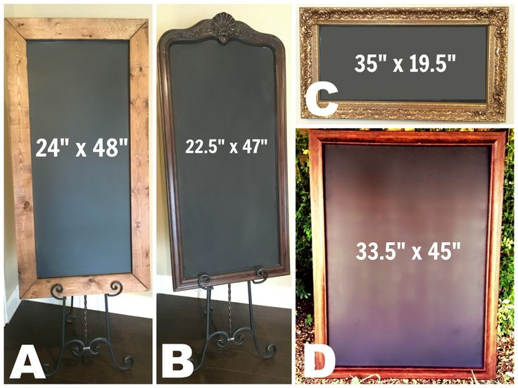 The Wooden Knot: [CHALKBOARD RENTALS] Our chalkboards are perfect to display your table assignments, dinner menu, ceremony program, or your clever wedding hashtag that you & your bridesmaids worked so hard to come up with! (We get it. That's no easy job.) These come with a complimentary large iron easel or you can forgo the easel and prop up at your venue.