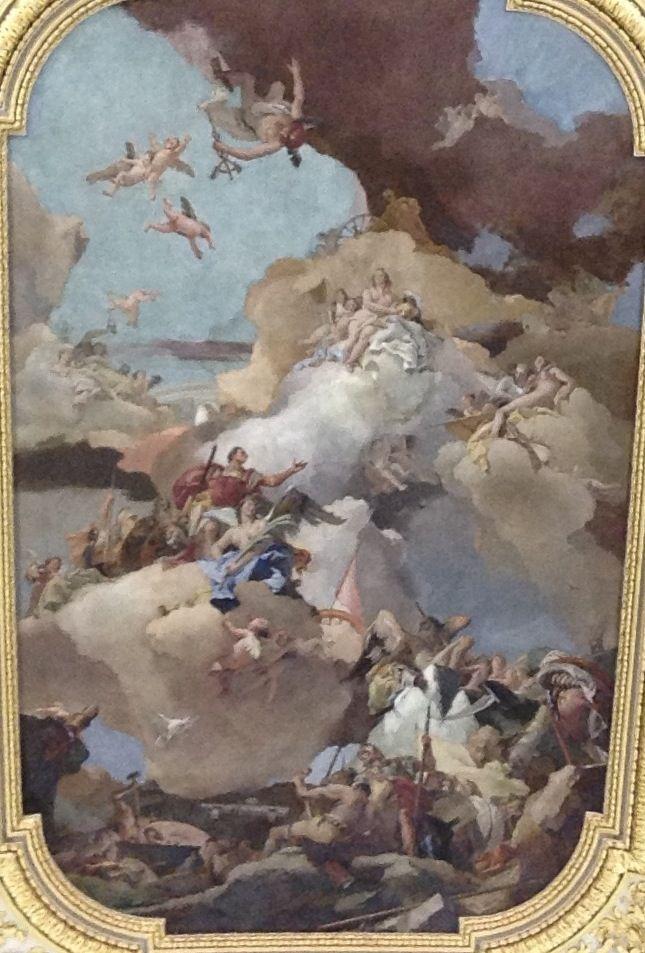 Giambattista Tiepolo, Palacio Real, Madrid
