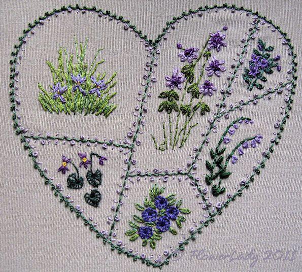 Heart Flowers by FlowerLady