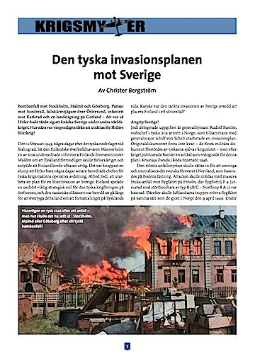 tyska invasionsplanen