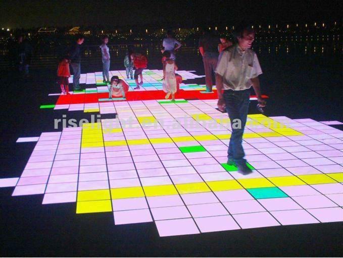 Dmx Interactive Led Floor Tiles Buy Interactive Floor