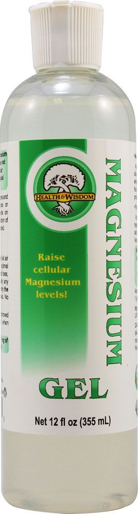Health and Wisdom Inc. Magnesium Gel