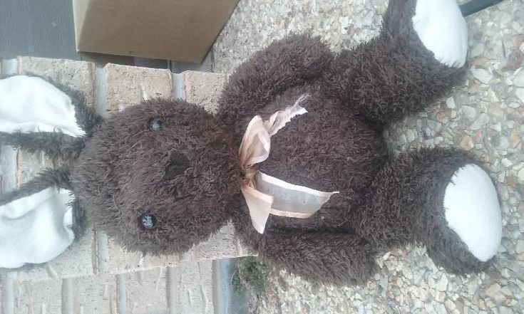 Found on 26 Dec. 2015 @ Pacific Hwy, Macksville, NSW. My kids & I found this lost bear on the side of the road. He just wants to go home Visit: https://whiteboomerang.com/lostteddy/msg/9246q9 (Posted by Michelle on 26 Dec. 2015)