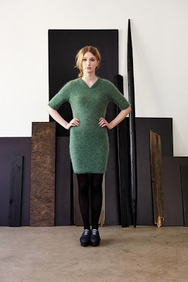 Mohairmekko// Mohair dress