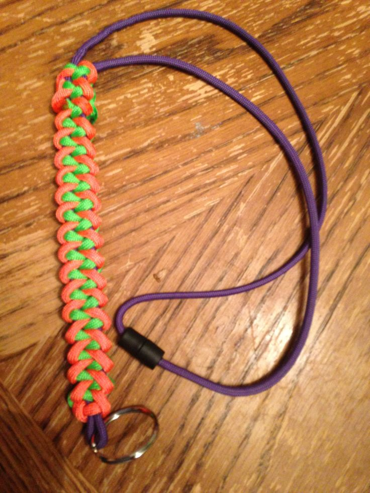 111 best paracord bracelets key chains lanyards images on for How to make a paracord lanyard necklace