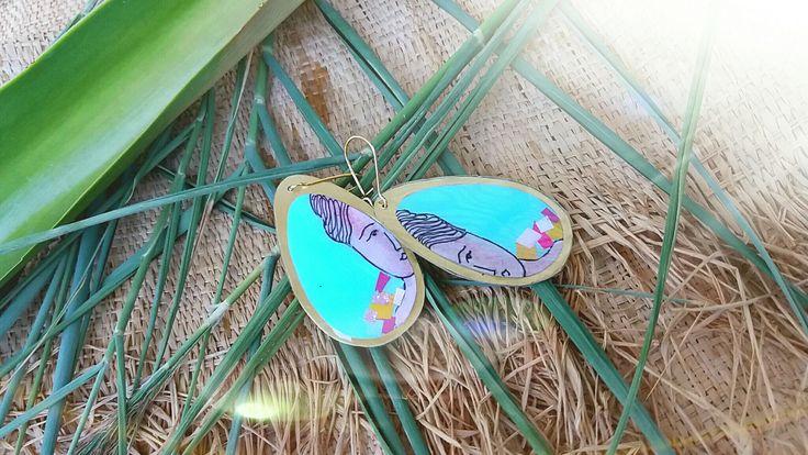 #earrings#tirguaz colour#