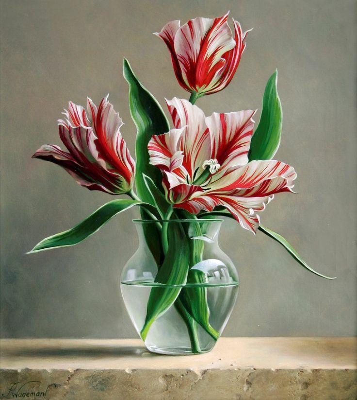 Питер Вагеманс – бельгийский художник. Цветы.. Обсуждение на LiveInternet - Российский Сервис Онлайн-Дневников