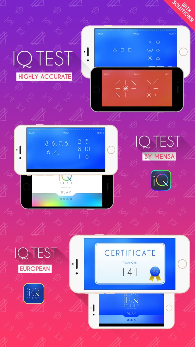 """IQ Test for Mensa on App Store:   I.Q. Test. With solutions! Reviews """"There's always another app claiming to test your brain. This one delivered! I am very pleased with it. I'll be recommending this to all my friends. It's a great way to get the juices of the mind flowing. I don't know what the actual standard tes...  Developer: Santiago Romani Castroman  Download at http://ift.tt/1kJTi9l"""