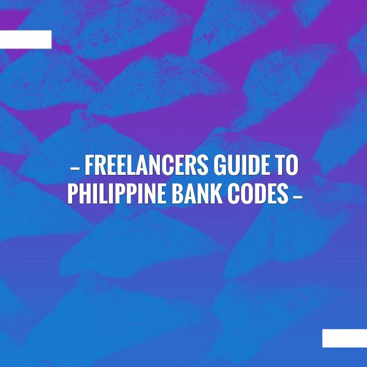 Wave hello to this awesome post! 👋 Freelancers Guide To Philippine Bank Codes https://leyzure.com/2017/07/24/freelancers-guide-to-philippine-bank-codes/?utm_campaign=crowdfire&utm_content=crowdfire&utm_medium=social&utm_source=pinterest