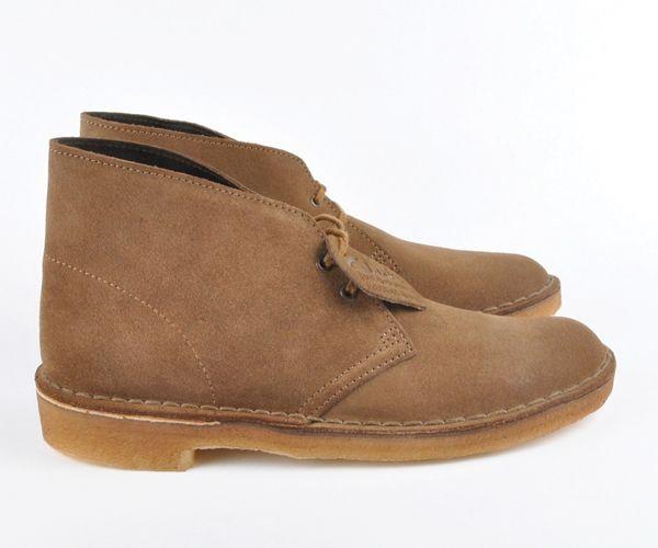 Icon - the Clarks desert boot.