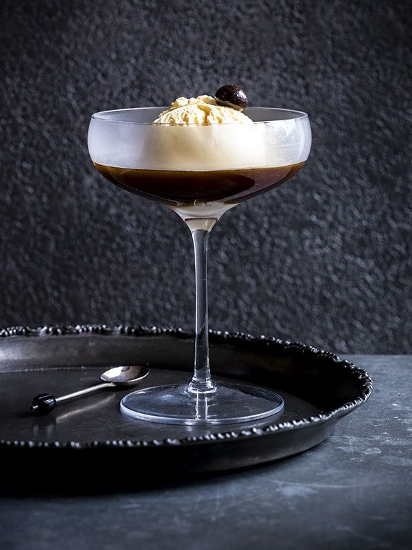 Affogato is the ultimate cheat's pud. Adding a slug of any spirit or liqueur you fancy makes it even more grown-up.