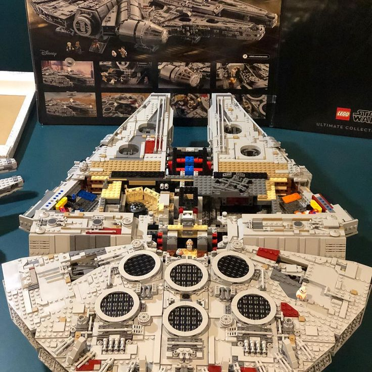 Lucky number 13.  Love the way this is coming together.  #lego #legostarwars #legofalcon