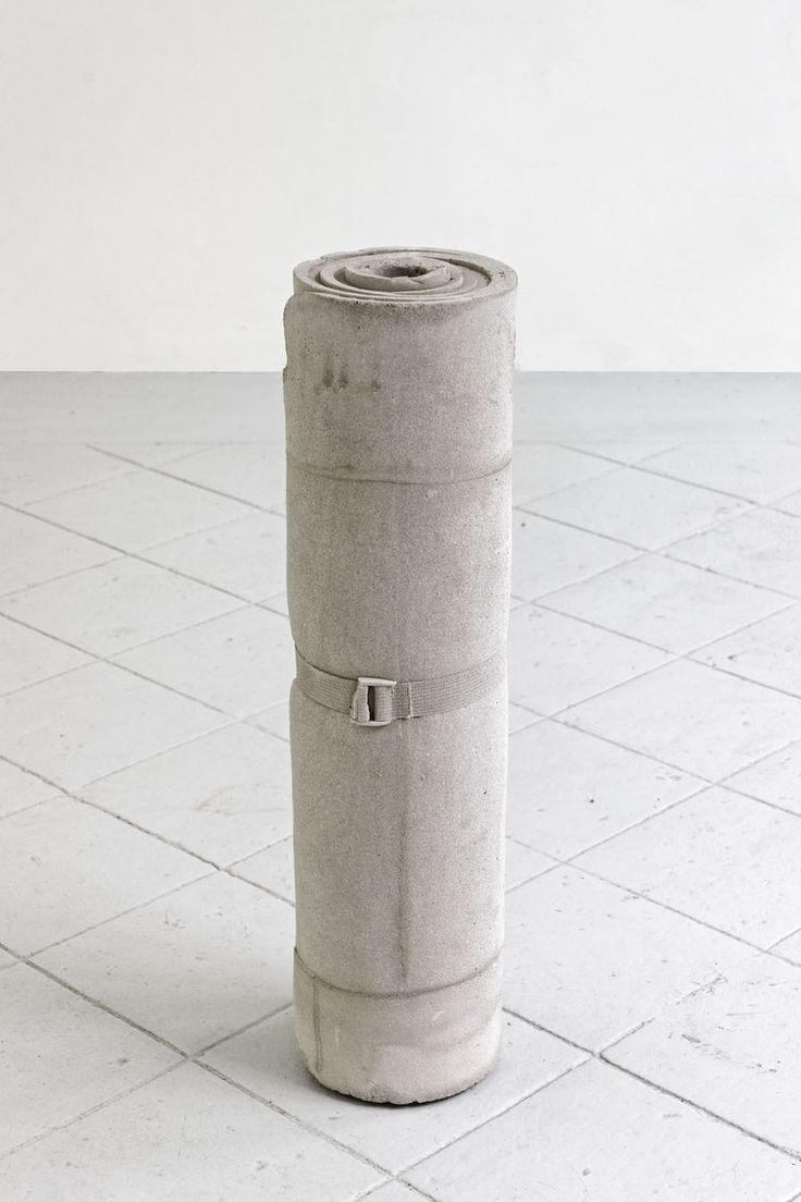 A Nuthing in a Nutshell w/Marius Engh 2012 Concrete 60 x 20 ø cm