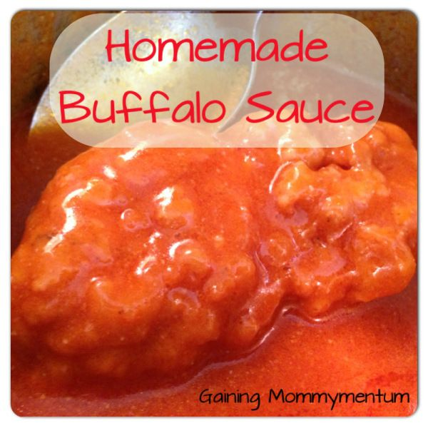 My friend wrote about Homemade Buffalo Sauce. Everyone should make this