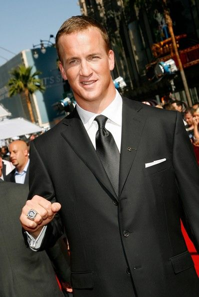Showing there's style off the pitch ~ Peyton Manning.