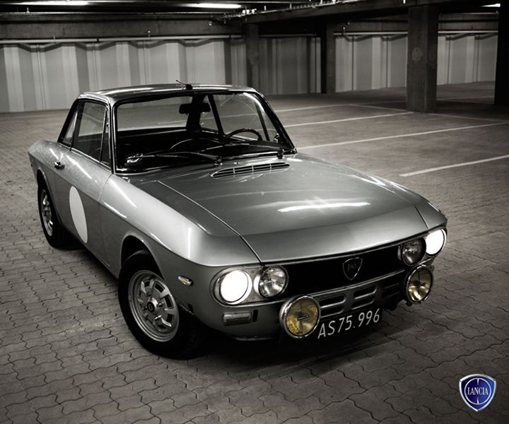 Ponadczasowy styl i charakter. Lancia #Fulvia z 1972 roku.