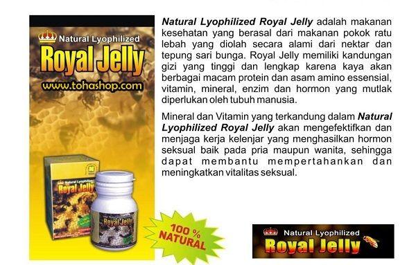 royal jelly nasa