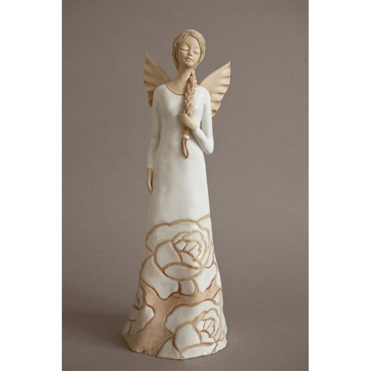 Anioł z warkoczem
