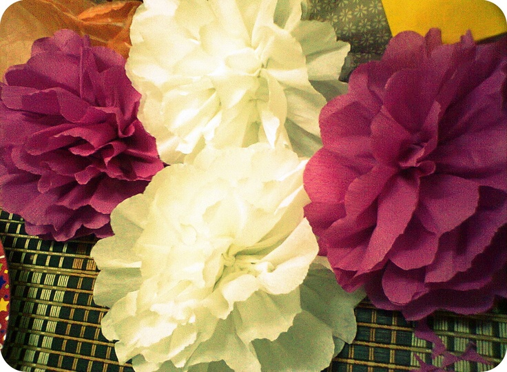 Another paper-flowers.
