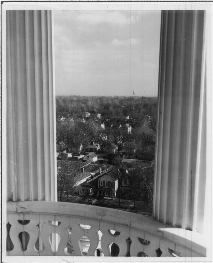 Louisville Ky View From The Kentucky School For Blind In Crescent Hill 1940s