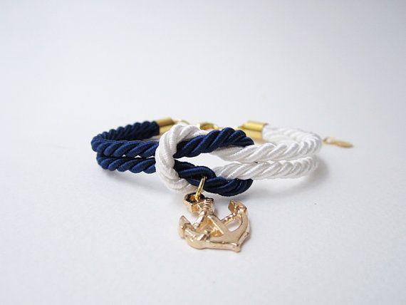 Hochzeit Geschenk, tie Brautdusche Geschenk, nautisch Armband, Hochzeit begünstigt, Knot Armband in Marine, Strandhochzeit  erstaunliche Geschenk für Sie und Freunde für besondere day.simple, weniger aber edel.  Alle Artikel endet mit Karabinerverschluss und Ringe für Kette Verschluss und Erweiterung.  ♪♪♪♪♪♪♪♪♪♪♪♪♪♪♪♪♪♪♪♪♪♪♪♪♪♪♪♪♪♪♪♪♪♪♪♪  SPEZIELLES ANGEBOT FÜR EIN MASSENQUANTITÄT!  Der Prozess des Einkaufs ist einfach: Die gewählten Produkte in den Warenkorb gelegt Geben Sie den relevanten…