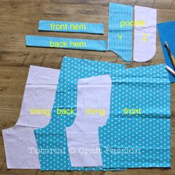 sewing short pants (free pattern & tutorial)