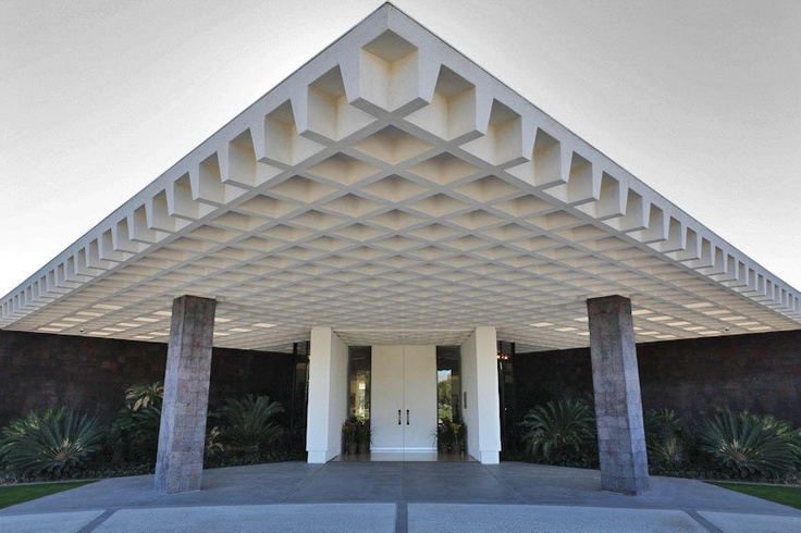 Palm Springs:  Sunnylands, the Annenbergs' A. Quincy Jones-Designed Camp David West