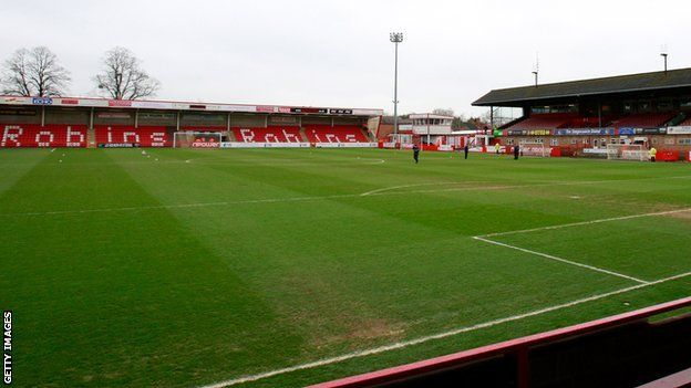 Cheltenham Town FC - Whaddon Road