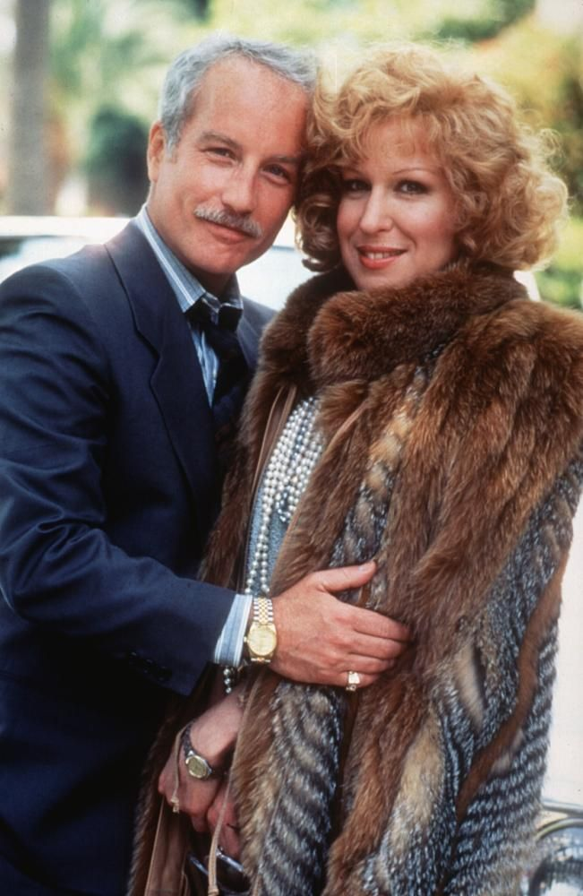 """""""Down and Out in Beverly Hills"""", (1986) starring Richard Dreyfuss, Bette Midler, and Nick Nolte"""