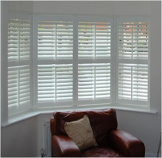 Interior Shutters with CenterDivider Rail and Center