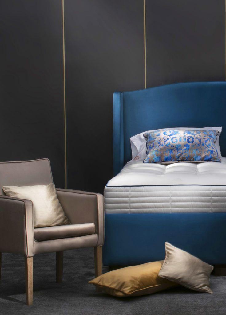 Just a beautiful BoxSpring bed. #boxspringbed #boxspring #bed #bedinspiration #bedinspo #bedroom #bedroominspo #bedroominspiration