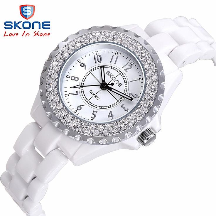 Купить товарЖенские часы SKONE марка роскошные Мода Повседневная кварц…