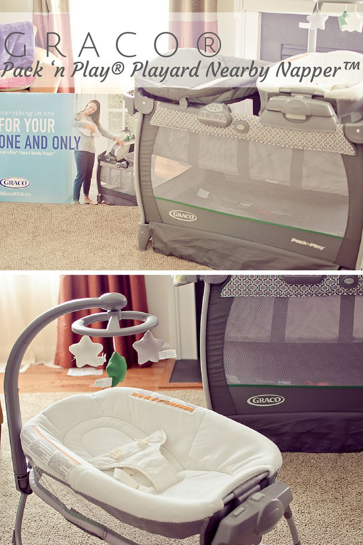 Graco® Pack 'n Play® Playard Nearby Napper™ #AtHomeWithGraco #ad
