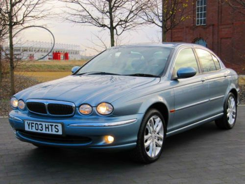 2003 JAGUAR X-TYPE X TYPE 2.1 V6 * FULL LEATHER * FULL SERVICE HISTORY 9 STAMPS £2250 www.thecarwarehouse.co.uk