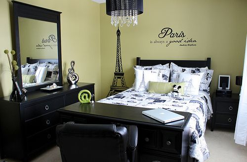 My New Bedroom It 39 S Kind Of Paris Or Travel Themed With