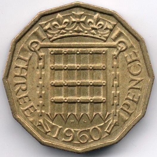 United Kingdom 3 Pence 1960 Veiling in de Decimaal,Brits,Munten,Munten & Banknota's Categorie op eBid België | 144884152