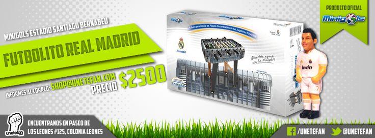 #FutbolitoRealMadrid