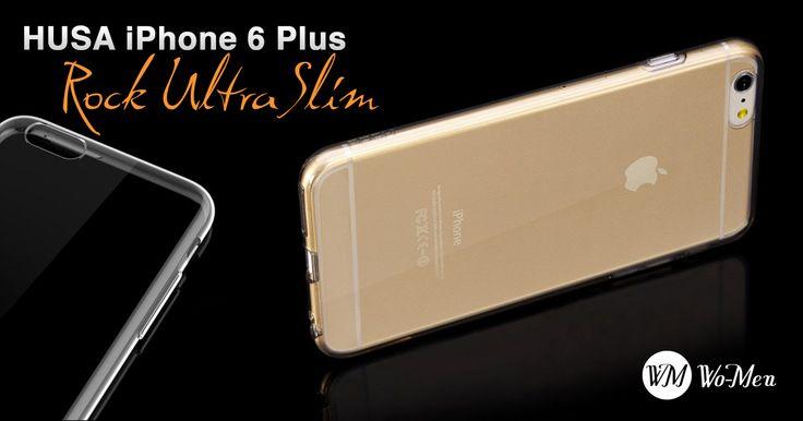 Materialul ultrasubtire prezinta aspectul original al smartphone-lui iPhone 6 Plus. Comanda acum!