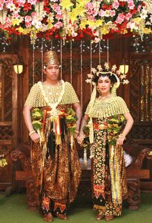 Wedding costumes From east java