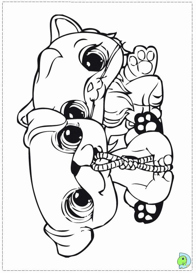Littlest Pet Shop Para Colorear Värityskuvia Coloring Pages
