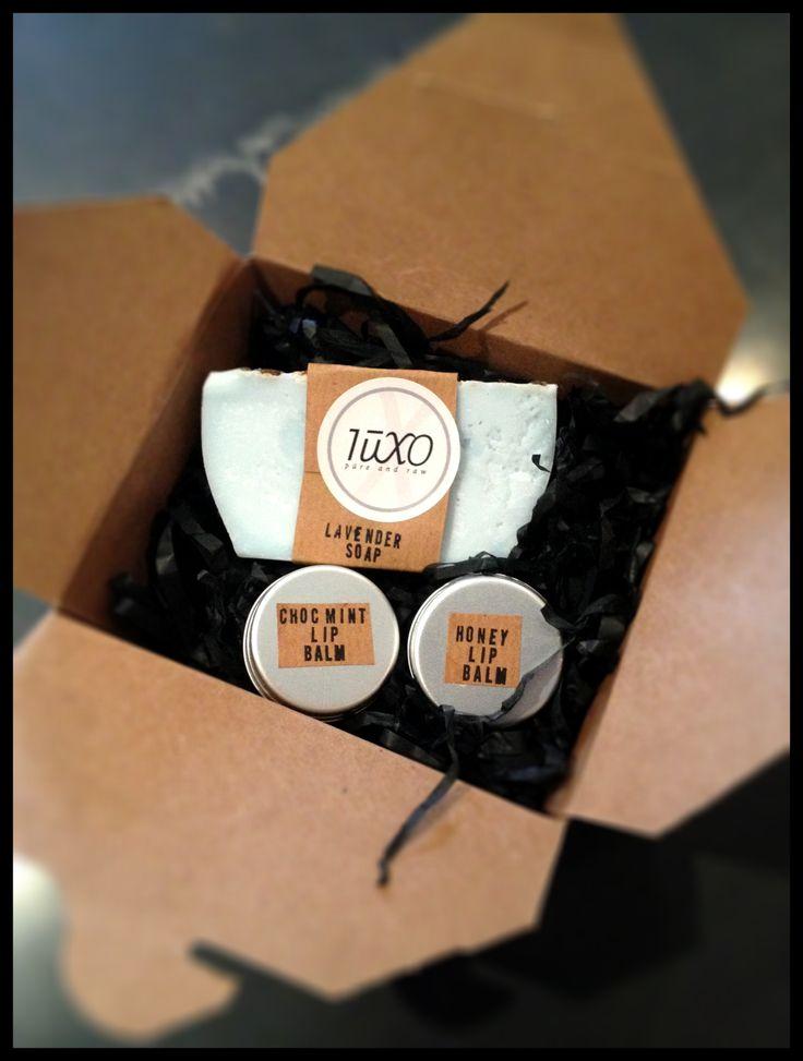 Luxo Birthday gift set.