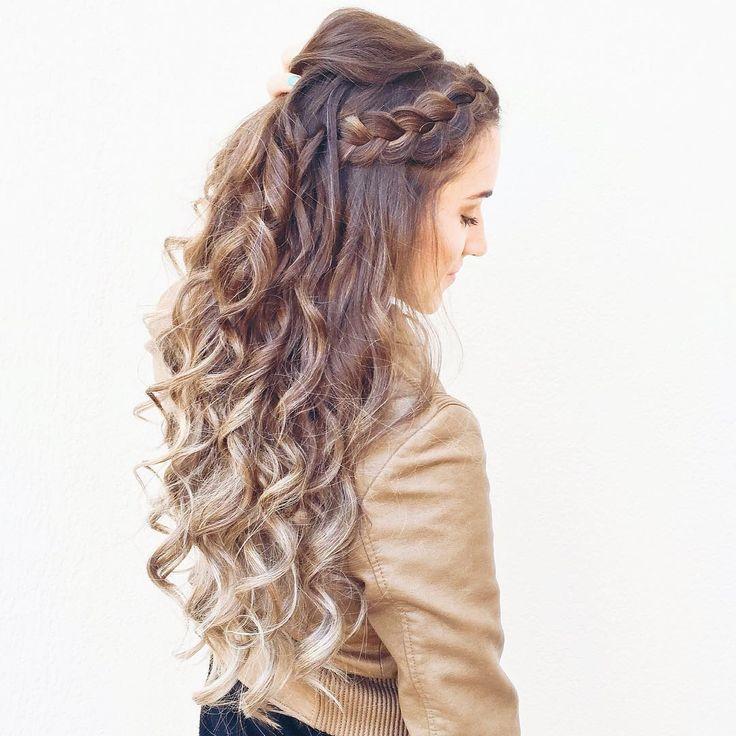 133 отметок «Нравится», 13 комментариев — Iris Araújo (@braids_in_action) в Instagram: «Head band braid ❤️trança invertida! Curtiram? 😃👍 #vaidetrança #voudetrança #instabraid #instastyle…»