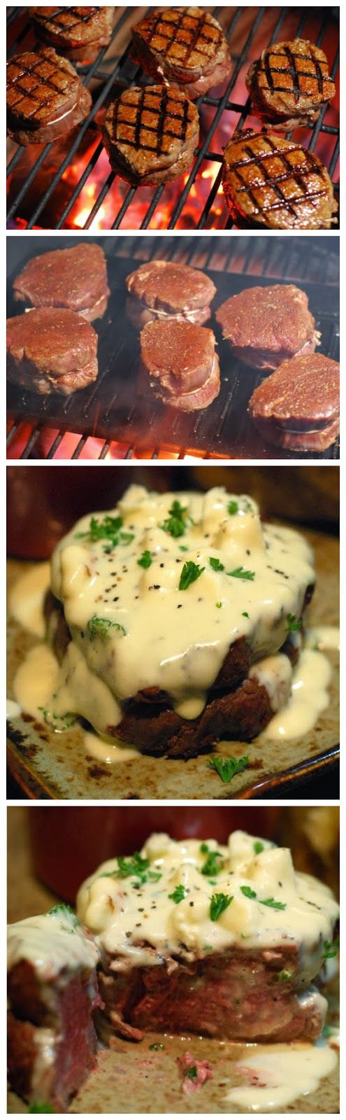 Filet with Gorgonzola Sauce