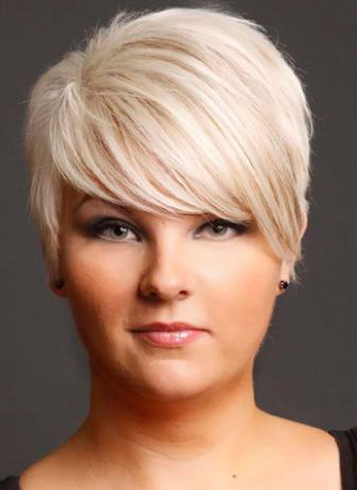 short haircuts for chubby faces 2016 | Beautiful People