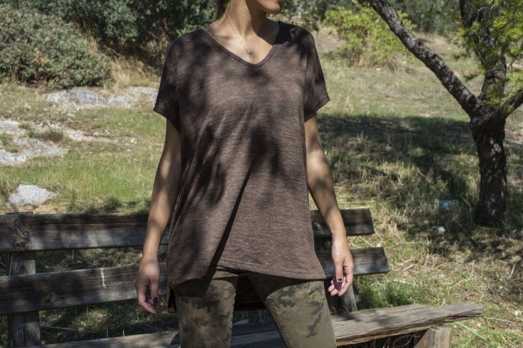 Brown plain shirt!! Wear it with everything!!!!